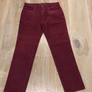 Brooks Brothers Red Fleece cords 32/32